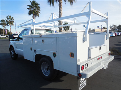 2014 F-350 Regular Cab DRW, Scelzi Contractor Body #EA27996 - photo 2