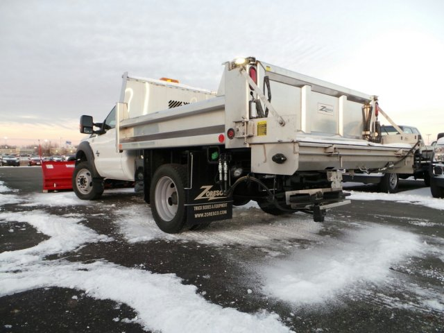 2014 F-550 Regular Cab DRW 4x4, Rugby Dump Body #EA55828 - photo 2