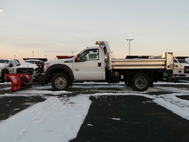 2014 F-550 Regular Cab DRW 4x4, Rugby Dump Body #EA55828 - photo 3