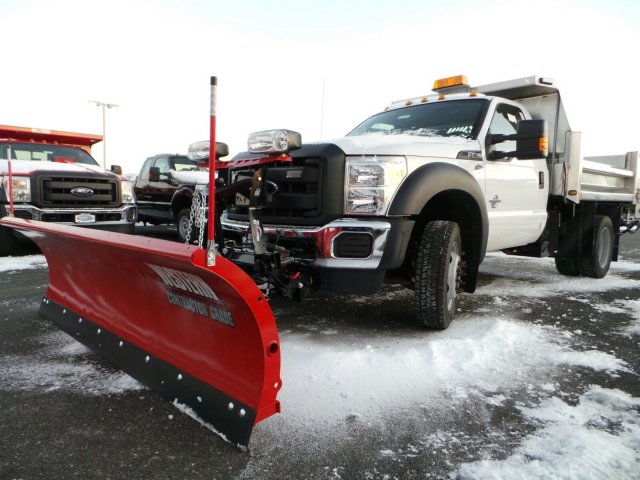2014 F-550 Regular Cab DRW 4x4, Rugby Dump Body #EA55828 - photo 4
