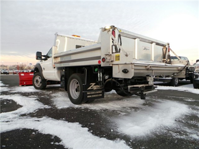 2014 F-550 Regular Cab DRW 4x4,  Rugby Eliminator LP Stainless Steel Dump Body #EA55828 - photo 2