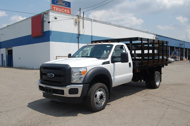 2015 F-450 Regular Cab DRW 4x2,  Imperial Stake Bed #EA59449 - photo 1
