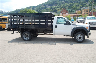 2015 F-450 Regular Cab DRW 4x2,  Imperial Stake Bed #EA59449 - photo 3
