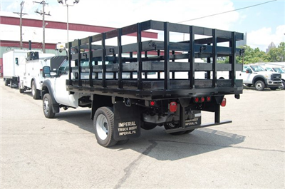 2015 F-450 Regular Cab DRW 4x2,  Imperial Stake Bed #EA59449 - photo 4