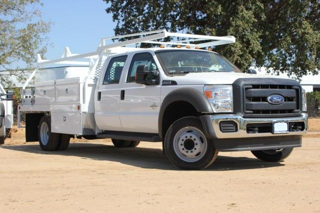 2015 F-550 Crew Cab DRW,  Scelzi Contractor Flatbed Contractor Body #EB00753 - photo 1