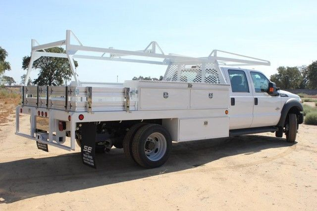 2015 F-550 Crew Cab DRW 4x2,  Scelzi Contractor Body #EB00753 - photo 2