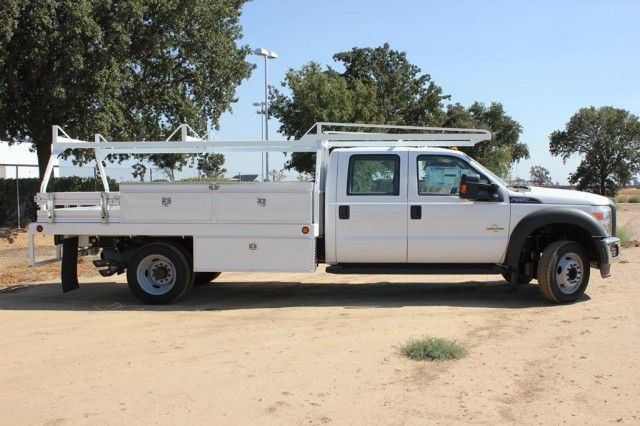 2015 F-550 Crew Cab DRW 4x2,  Scelzi Contractor Body #EB00753 - photo 3