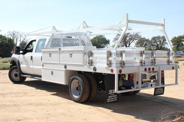 2015 F-550 Crew Cab DRW,  Scelzi Contractor Flatbed Contractor Body #EB00753 - photo 4