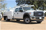 2015 F-550 Crew Cab DRW 4x2,  Scelzi Contractor Body #EB00753 - photo 1