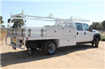 2015 F-550 Crew Cab DRW,  Scelzi Contractor Flatbed Contractor Body #EB00753 - photo 2