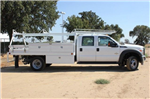 2015 F-550 Crew Cab DRW,  Scelzi Contractor Flatbed Contractor Body #EB00753 - photo 3