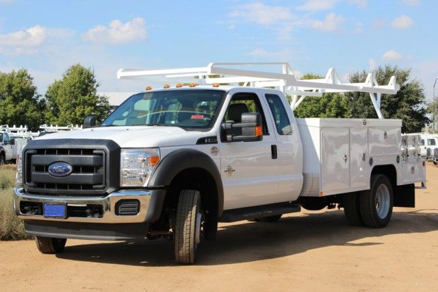 2015 F-550 Super Cab DRW,  Scelzi Contractor Flatbed Combo Body #EB05607 - photo 5