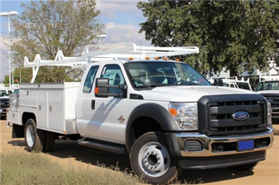 2015 F-550 Super Cab DRW 4x2,  Scelzi CTFB Combo Body #EB05607 - photo 1