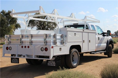 2015 F-550 Super Cab DRW 4x2,  Scelzi CTFB Combo Body #EB05607 - photo 2