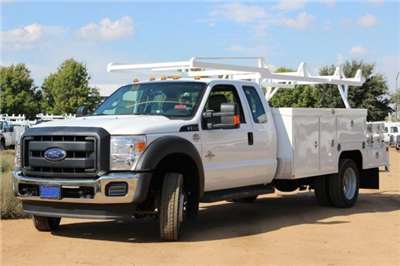 2015 F-550 Super Cab DRW 4x2,  Scelzi CTFB Combo Body #EB05607 - photo 5