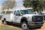 2015 F-550 Super Cab DRW,  Scelzi Contractor Flatbed Combo Body #EB05607 - photo 1