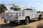 2015 F-550 Super Cab DRW,  Scelzi Contractor Flatbed Combo Body #EB05607 - photo 2