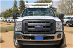 2015 F-550 Super Cab DRW,  Scelzi Contractor Flatbed Combo Body #EB05607 - photo 3