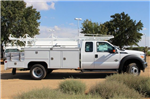2015 F-550 Super Cab DRW,  Scelzi Contractor Flatbed Combo Body #EB05607 - photo 4
