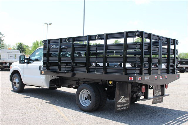 2014 F-350 Regular Cab DRW 4x2,  Knapheide Stake Bed #KNAPEB29604 - photo 2