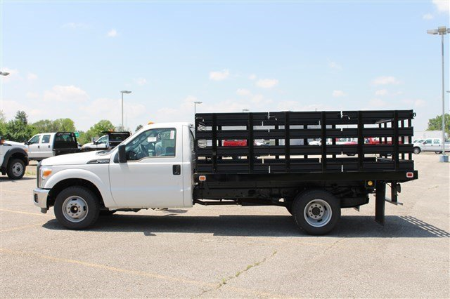 2014 F-350 Regular Cab DRW 4x2,  Knapheide Stake Bed #KNAPEB29604 - photo 3