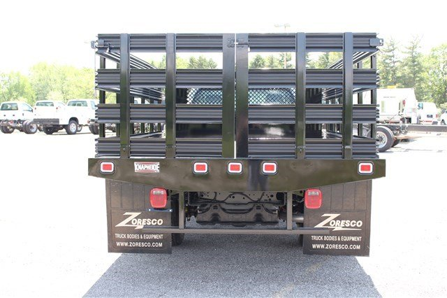 2014 F-350 Regular Cab DRW 4x2,  Knapheide Stake Bed #KNAPEB29604 - photo 4