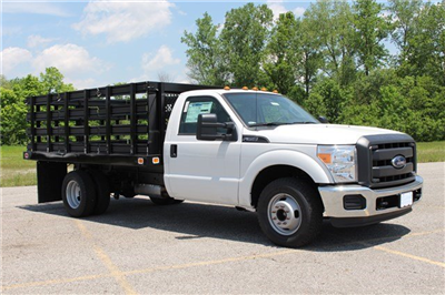 2014 F-350 Regular Cab DRW, Knapheide Value-Master X Stake Bed #KNAPEB29604 - photo 1