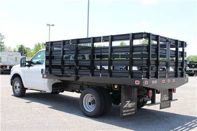 2014 F-350 Regular Cab DRW, Knapheide Value-Master X Stake Bed #KNAPEB29604 - photo 2