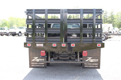 2014 F-350 Regular Cab DRW, Knapheide Value-Master X Stake Bed #KNAPEB29604 - photo 4