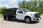 2014 F-350 Regular Cab DRW 4x2,  Knapheide Stake Bed #KNAPEB29604 - photo 1