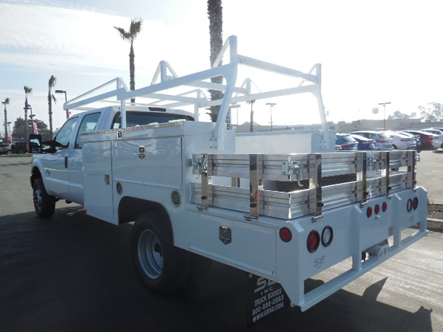 2015 F-350 Crew Cab DRW 4x4, Scelzi Combo Body #EC39548 - photo 2