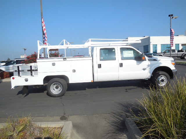 2015 F-350 Crew Cab DRW 4x4, Scelzi Combo Body #EC39548 - photo 3