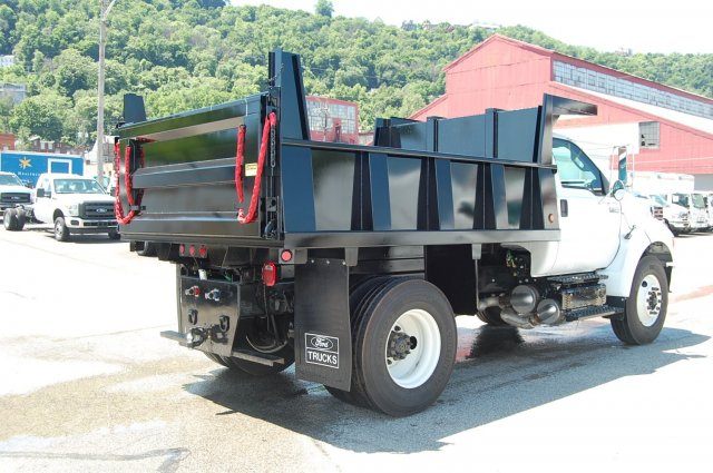 2015 F-750 Regular Cab DRW,  Imperial Dump Body #V099451 - photo 2
