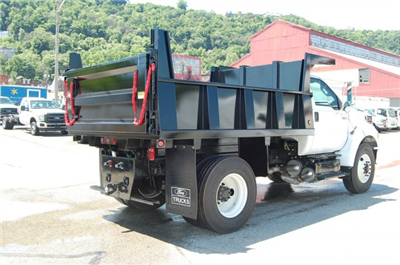 2015 F-750 Regular Cab DRW 4x2,  Imperial Dump Body #V099451 - photo 2