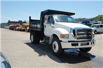2015 F-750 Regular Cab DRW 4x2,  Imperial Dump Body #V099451 - photo 3