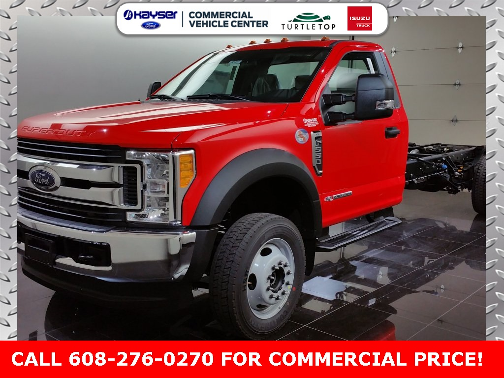 2017 F-550 Regular Cab DRW 4x4 Cab Chassis #H0023 - photo 1