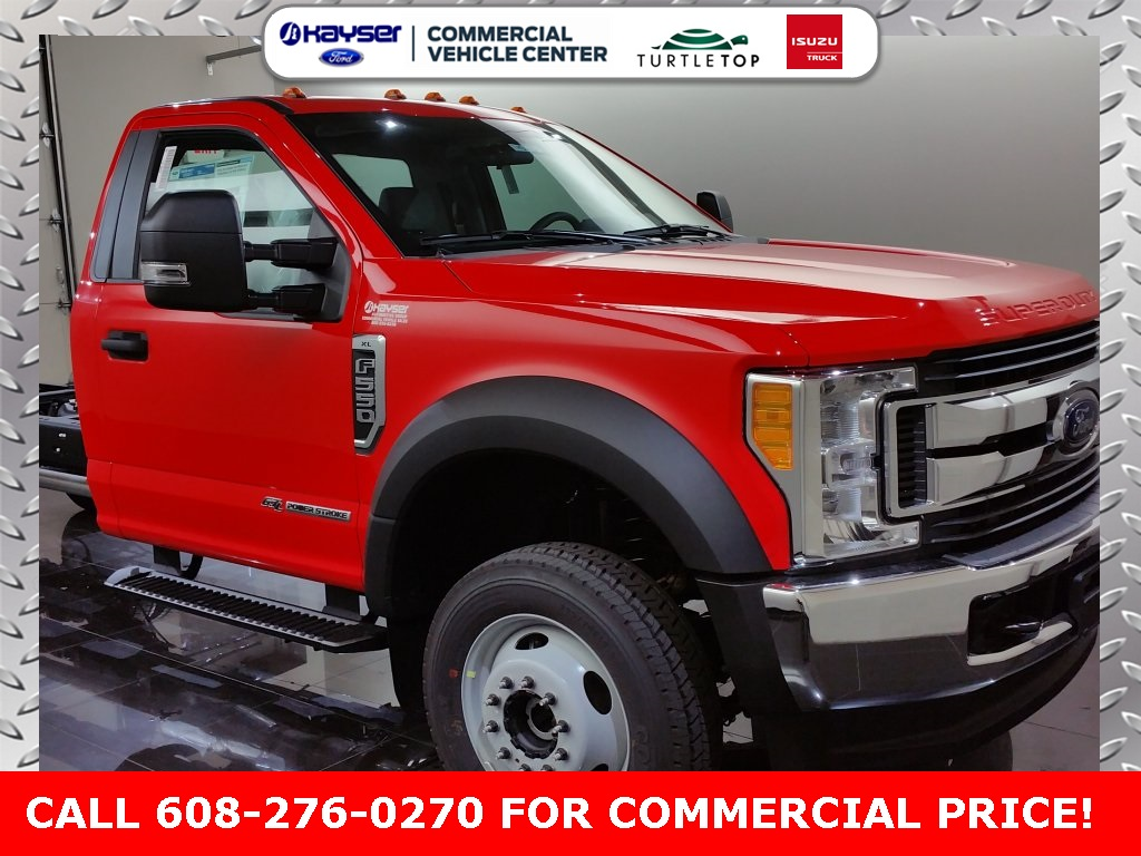 2017 F-550 Regular Cab DRW 4x4, Cab Chassis #H0023 - photo 3