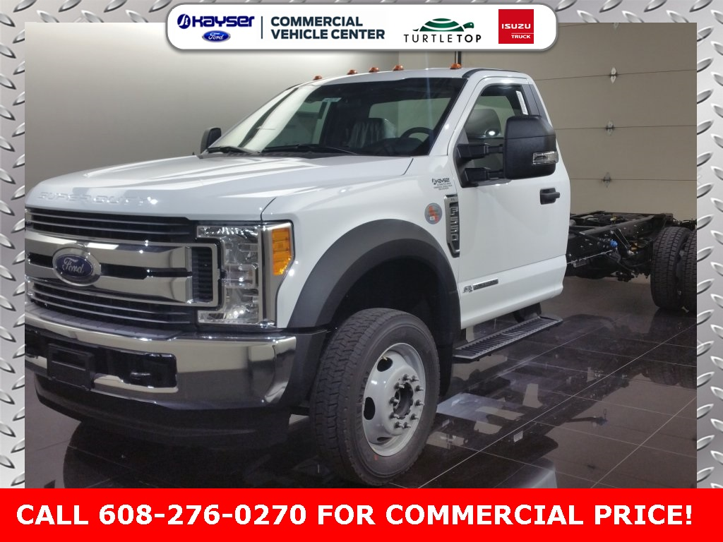 2017 F-550 Regular Cab DRW 4x4, Cab Chassis #H0028 - photo 1