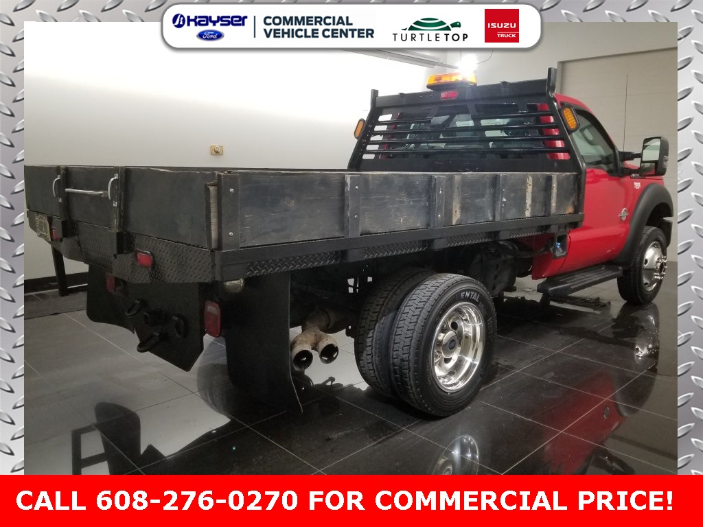 2011 F-550 Regular Cab DRW 4x4,  Platform Body #H0761A - photo 4