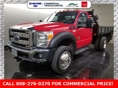 2011 F-550 Regular Cab DRW 4x4,  Platform Body #H0761A - photo 1