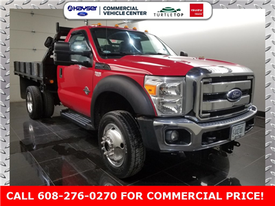 2011 F-550 Regular Cab DRW 4x4,  Platform Body #H0761A - photo 3
