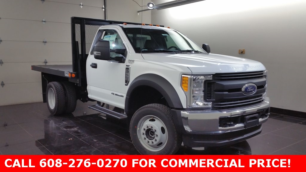 2017 F-550 Regular Cab DRW 4x4, Monroe Versa-Line Platform Platform Body #H0762 - photo 1