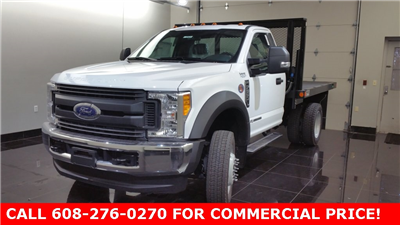 2017 F-550 Regular Cab DRW 4x4, Monroe Versa-Line Platform Platform Body #H0762 - photo 4