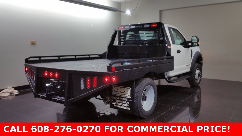 2017 F-550 Regular Cab DRW 4x4, Hillsboro Platform Body #H0776 - photo 4