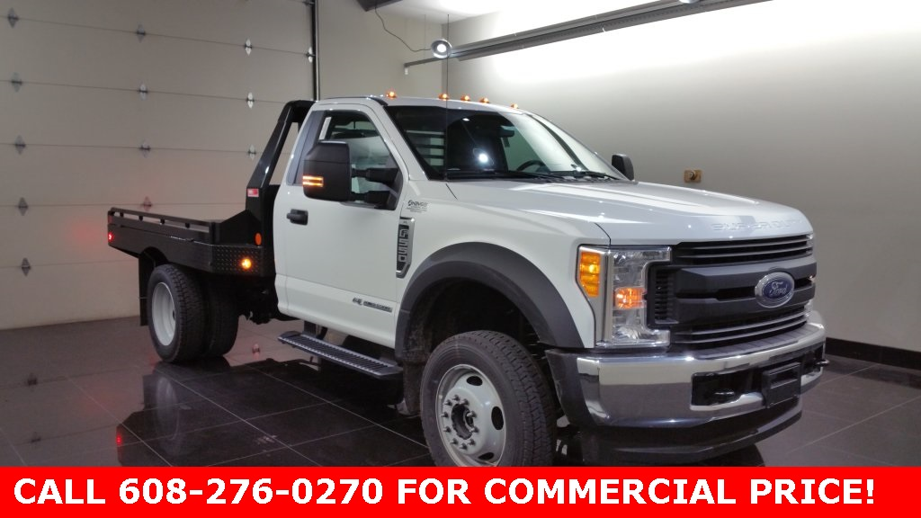 2017 F-550 Regular Cab DRW 4x4,  Hillsboro Platform Body #H0776 - photo 3