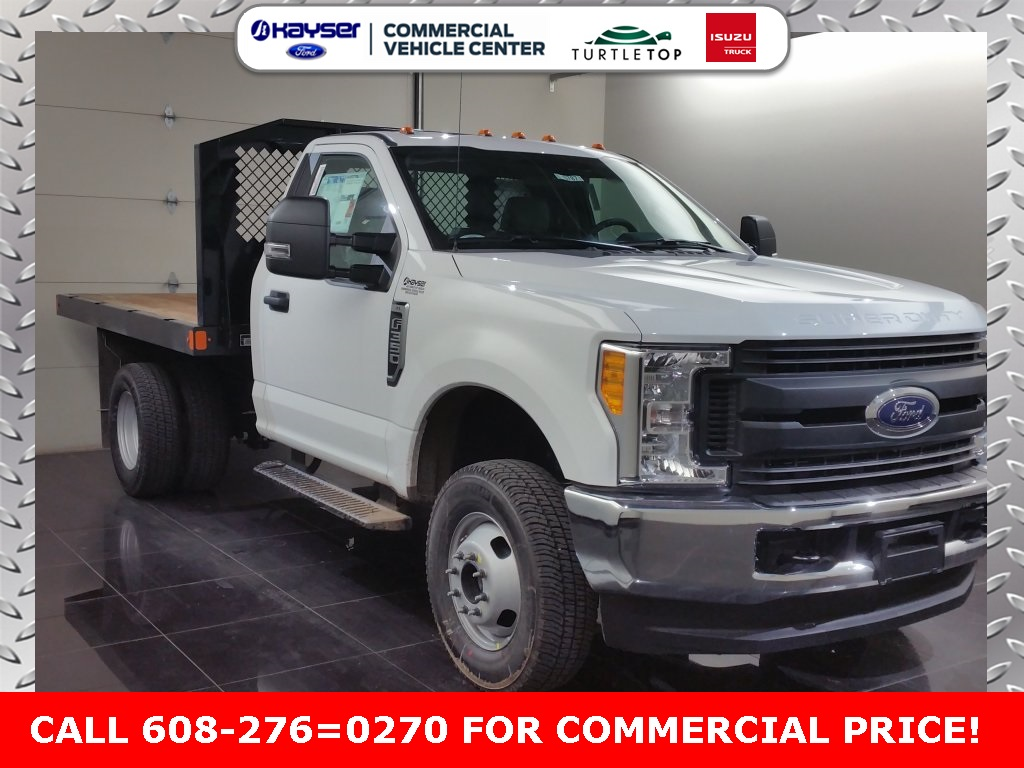 2017 F-350 Regular Cab DRW 4x4, Monroe Platform Body #H0787 - photo 3