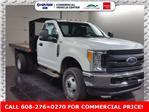 2017 F-350 Regular Cab DRW 4x4, Monroe Work-A-Hauler II Platform Platform Body #H0787 - photo 3