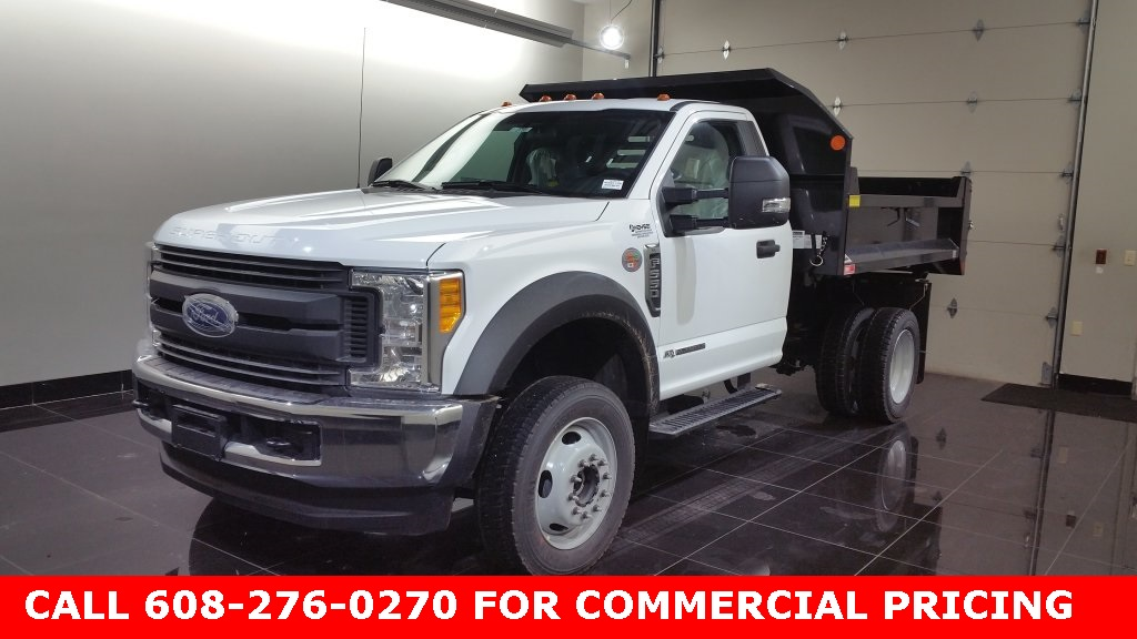 2017 F-550 Regular Cab DRW 4x4, Monroe Dump Body #H0788 - photo 6