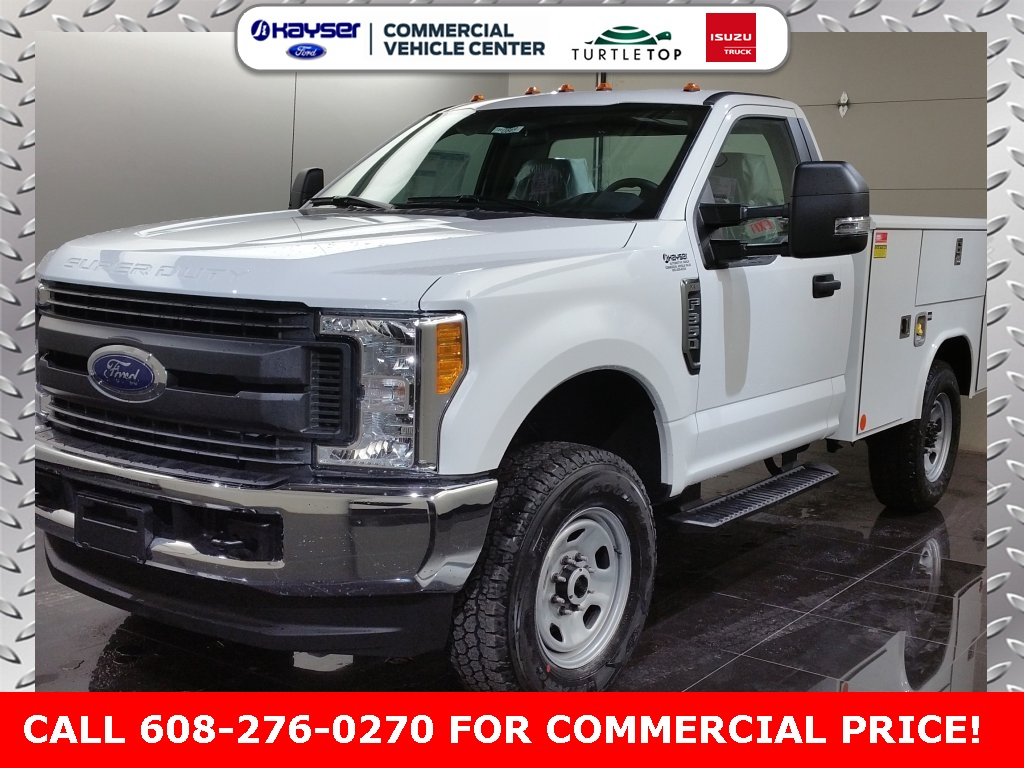 2017 F-350 Regular Cab 4x4,  Reading Classic II Steel Service Body #H0873 - photo 1