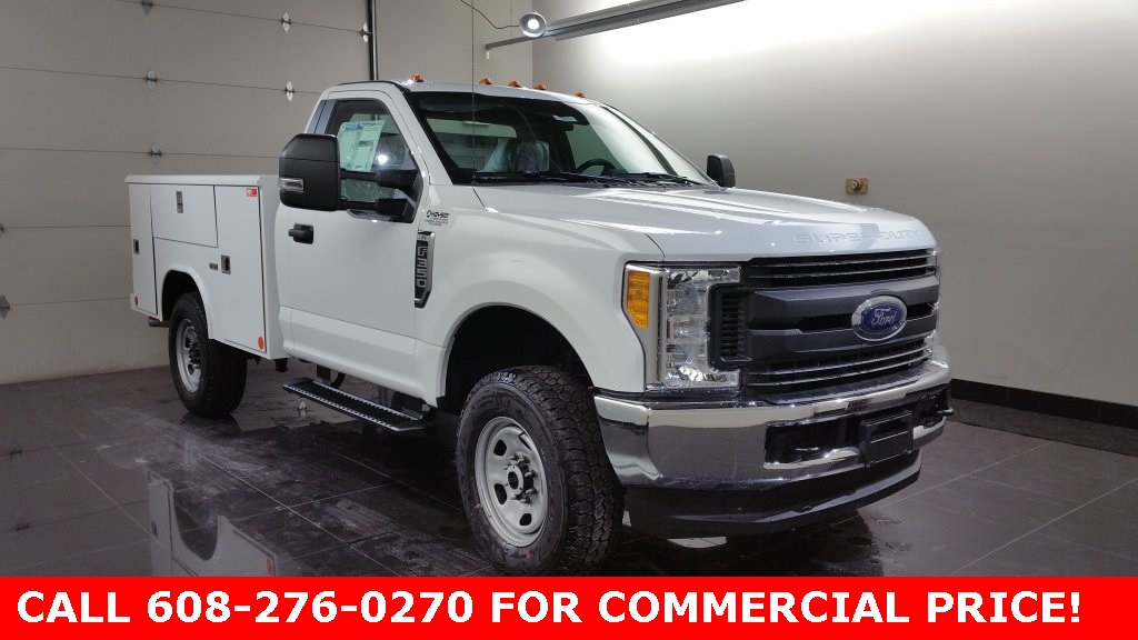 2017 F-350 Regular Cab 4x4,  Reading Classic II Steel Service Body #H0873 - photo 3